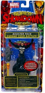 Marvel Heroes Super Hero Showdown Booster Pack with Super Poseable Action Figure Punisher