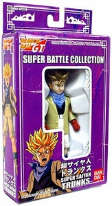 Dragon Ball GT Bandai Japanese Super Battle Collection Action Figure Super Saiyan Trunks