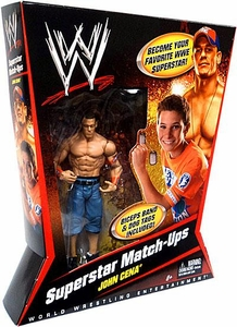 Mattel WWE Wrestling Superstar Match-Ups Action Figure John Cena