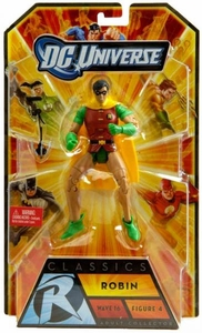 DC Universe Classics Series 16 Action Figure Classic Robin {Dick Grayson} [Build Bane Piece!]