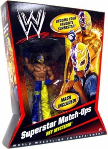 Mattel WWE Wrestling Superstar Match-Ups Series 1 Action Figure Rey Mysterio BLOWOUT SALE!