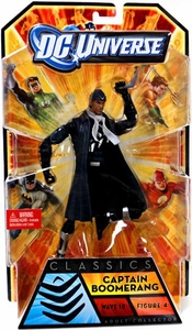 DC Universe Classics Series 18 Action Figure Captain Boomerang [Build Apache Chief Figure]