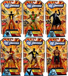 DC Universe Classics Series 18 Set of 6 Action Figures [Build Apache Chief Figure]