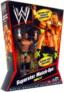 Mattel WWE Wrestling Superstar Match-Ups Series 1 Action Figure Triple H [HHH]