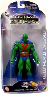 DC Direct History of the DC Universe Series 4 Action Figure Martian Manhunter [Silver Age]