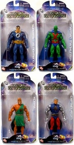 DC Direct History of the DC Universe Series 4 Set of 4 Action Figures [Nightwing, Martian Manhunter, Captain Atom & Kobra]