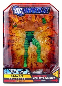 DC Universe Classics Series 5 Exclusive Action Figure Amazo [Build Metallo Piece!]
