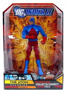 DC Universe Classics Series 5 Exclusive Action Figure The Atom [Build Metallo Piece!]