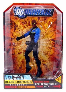 DC Universe Classics Series 5 Exclusive Action Figure Black Lightning [Build Metallo Piece!]
