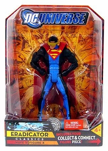 DC Universe Classics Series 5 Exclusive Action Figure Eradicator [Build Metallo Piece!]