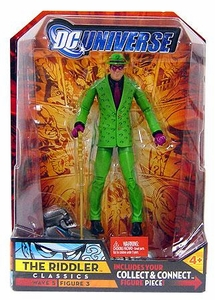 DC Universe Classics Series 5 Exclusive Action Figure The Riddler [Build Metallo Piece!]