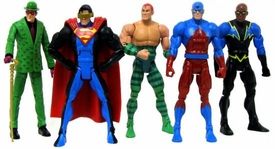 DC Universe Classics Exclusive Series 5 Set of 5 LOOSE Action Figures No Metallo Parts!