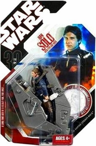 Star Wars 30th Anniversary Saga 2007 Action Figure Wave 6 #38 Han Solo with Bespin Torture Rack