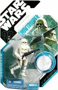 Star Wars 30th Anniversary Saga 2007 Action Figure Wave 6 #42 Snowtrooper [McQuarrie Concept]