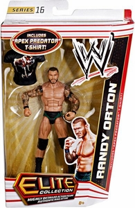 Mattel WWE Wrestling Elite Series 16 Action Figure Randy Orton [Apex Predator T-Shirt!]