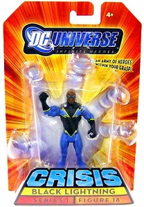 DC Universe Infinite Heroes Crisis Action Figure #18 Black Lightning