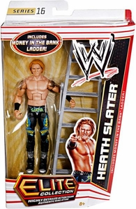 Mattel WWE Wrestling Elite Series 16 Action Figure Heath Slater [Money in the Bank Ladder!]