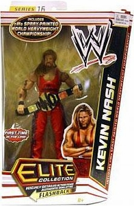 Mattel WWE Wrestling Elite Series 16 Action Figure Kevin Nash {Outsiders} [NWO Spray Painted World Heavyweight Championship Belt]
