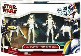Star Wars 2009 Clone Wars Figure Pack 212th Battalion Clone Troopers with Jet Backpacks