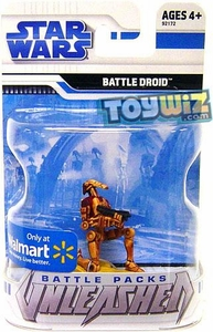Star Wars 2009 Battle Packs Unleashed Exclusive Single Figure Desert Battle Droid