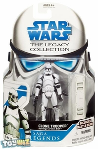 Star Wars 2008 Legacy Collection Saga Legends Action Figure SL No. 27 Clone Trooper [ROTS]