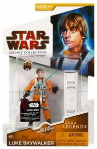 Star Wars 2009 Saga Legends Action Figure SL No. 17 Luke Skywalker