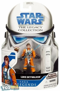 Star Wars 2008 Legacy Collection Saga Legends Action Figure SL No. 22 Luke Skywalker [X-Wing Pilot]