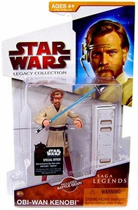 Star Wars 2009 Saga Legends Action Figure SL No. 19 Obi-Wan Kenobi