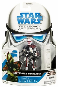 Star Wars 2008 Legacy Collection Saga Legends Action Figure SL No. 23 ARC Trooper Commander