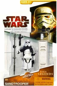 Star Wars 2009 Saga Legends Action Figure SL No. 10 Sandtrooper