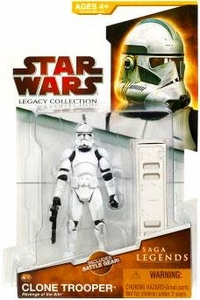 Star Wars 2009 Saga Legends Action Figure SL No. 12 Episode III Clone Trooper