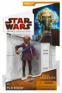 Star Wars 2009 Saga Legends Action Figure SL No. 13 Plo Koon