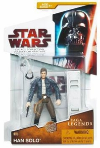 Star Wars 2009 Saga Legends Action Figure SL No. 16 Han Solo