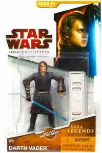 Star Wars 2009 Saga Legends Action Figure SL No. 2 Anakin Skywalker [Darth Vader]