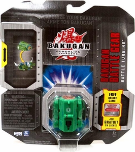 Bakugan Battle Gear Single Figure Zephyroz [Green] Battle Turbine Adds 70 G!