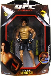 UFC Jakks Pacific Series 1 Deluxe Action Figure Evan Tanner [Legend]