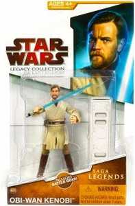 Star Wars 2009 Saga Legends Action Figure SL No. 3 Obi-Wan Kenobi