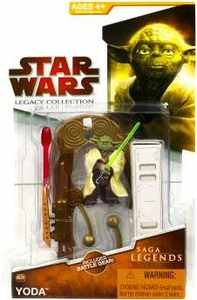 Star Wars 2009 Saga Legends Action Figure SL No. 9 Yoda