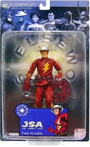 DC Direct Elseworlds Series 4 Action Figure JSA Liberty Files Flash