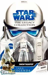 Star Wars 2008 Legacy Collection Saga Legends Action Figure SL No. 25 Snowtrooper