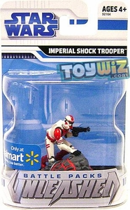 Star Wars 2009 Battle Packs Unleashed Exclusive Single Figure Imperial Shock Trooper