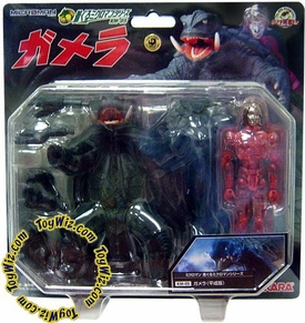 Gamera Japanese Microman Figure Gamera Showa Version (km-05)