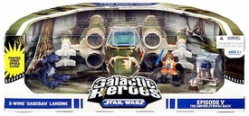 Star Wars Galactic Heroes Cinema Scene Mini Figure Pack X-Wing Dagobah Landing