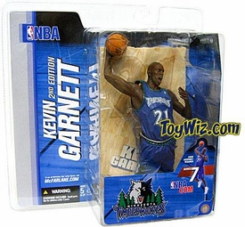 McFarlane Toys NBA Sports Picks Series 7 Action Figure Kevin Garnett (Minnesota Timberwolves) Blue Jersey