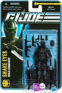 GI Joe Pursuit of Cobra 3 3/4 Inch Action Figure Snake Eyes {Version 8} [Ninja Commando]