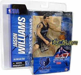 McFarlane Toys NBA Sports Picks Series 7 Action Figure Jason Williams (Memphis Grizzlies) Blue Jersey