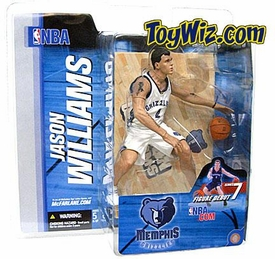 McFarlane Toys NBA Sports Picks Series 7 Action Figure Jason Williams (Memphis Grizzlies) White Jersey Variant