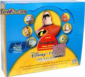 Disney & Pixar Treasures Featuring The Incredibles Movie Trading Cards Box