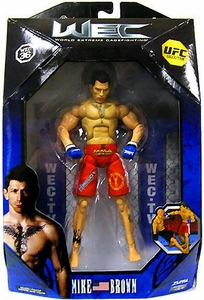 UFC Jakks Pacific Series 2 Deluxe Action Figure Mike Brown [WEC]