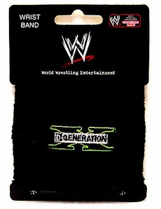 WWE Wrestling Sweatband DX Logo